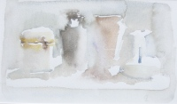 Carafe, watercolor, 6 x 10 in.